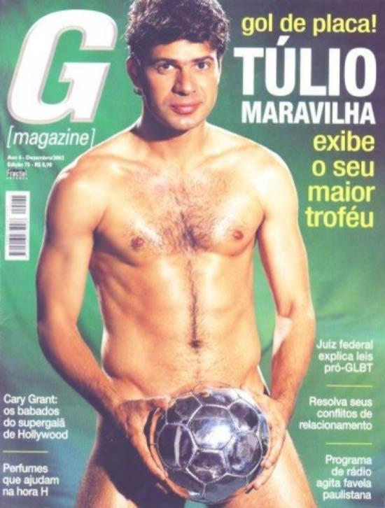 Fotos Pelado Túlio Maravilha G Magazine Capa