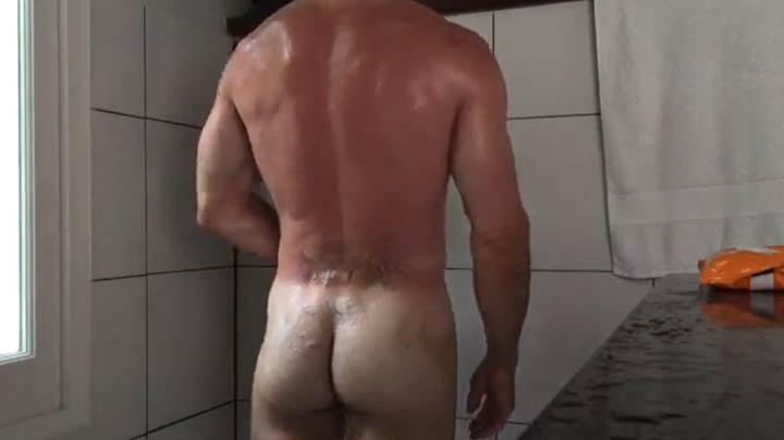 homem pelado bunda de macho