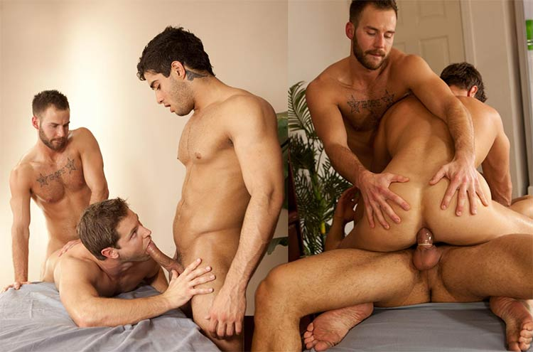 gay online Diego Sans, Eric Pryor, Chris Bines
