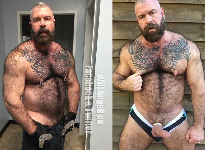 pornstar Will Angell gay naked