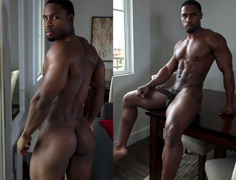 gay porn DeAngelo Jackson naked black