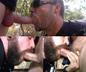 Enchendo a boca de gala na trilha