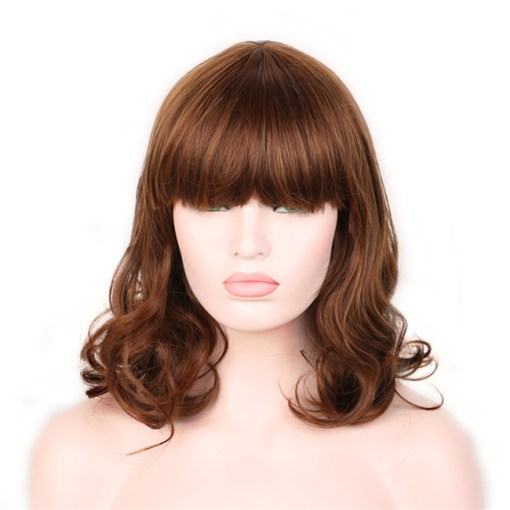 Woman Brown Wig