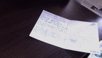 postcard bday
