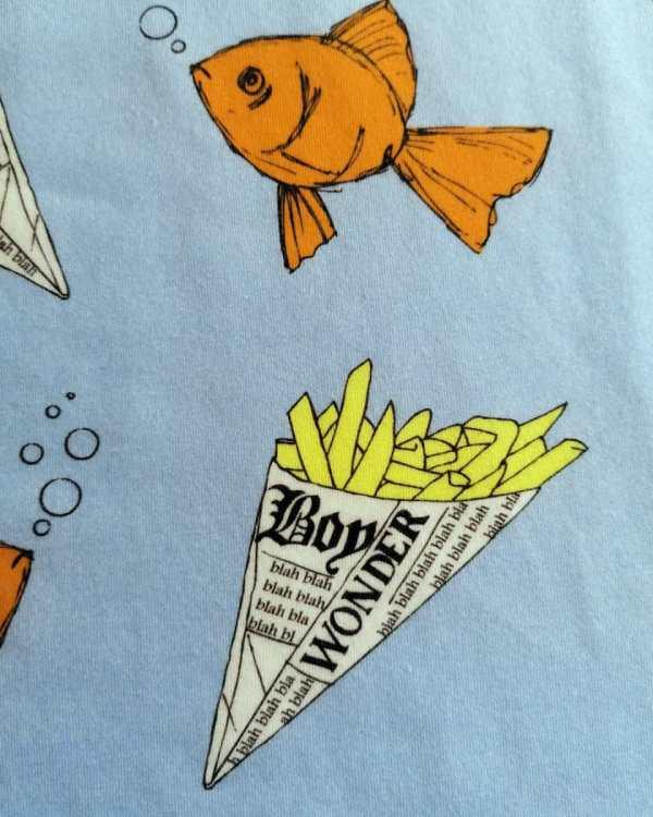 Fish print swatch