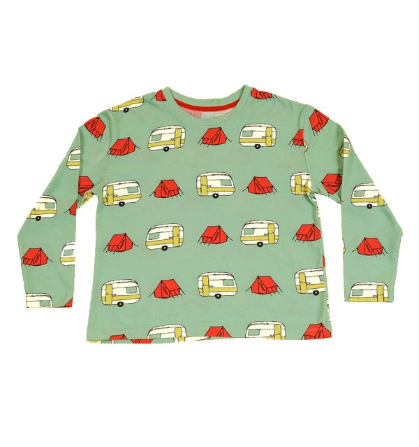 Boy Wonder long tee caravan cutout front