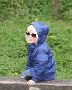 British fashion worn by the boy wonder