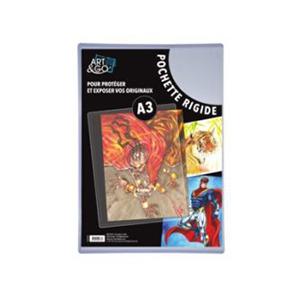 Art & Go. Pochette de protection A3. Lot de 10.
