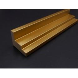 Cadre Caisse américaine dorée escalier 45 x 35 mm