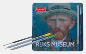 Bruynzeel Coffret métal 24 crayons aquarellables Rijks Museum Van Gogh