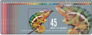 """Coffret 45 crayons de couleur Bruynzeel """"Caméléon"""""""