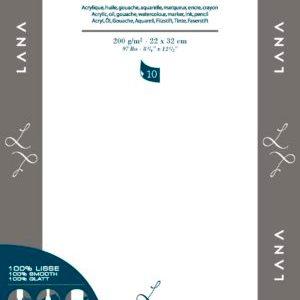 """LanaVanquard Papier """"Yupo"""" 100% Hi-Tech. Pack 10 Feuilles 200 grs"""
