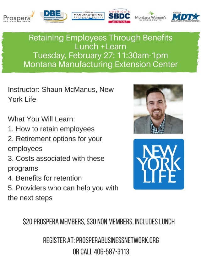 retaining employees training event