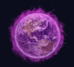 Earth in Violet Flame