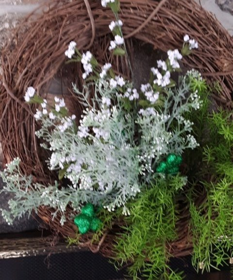 St. Patrick Day Wreath