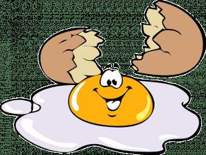 egg cracking open