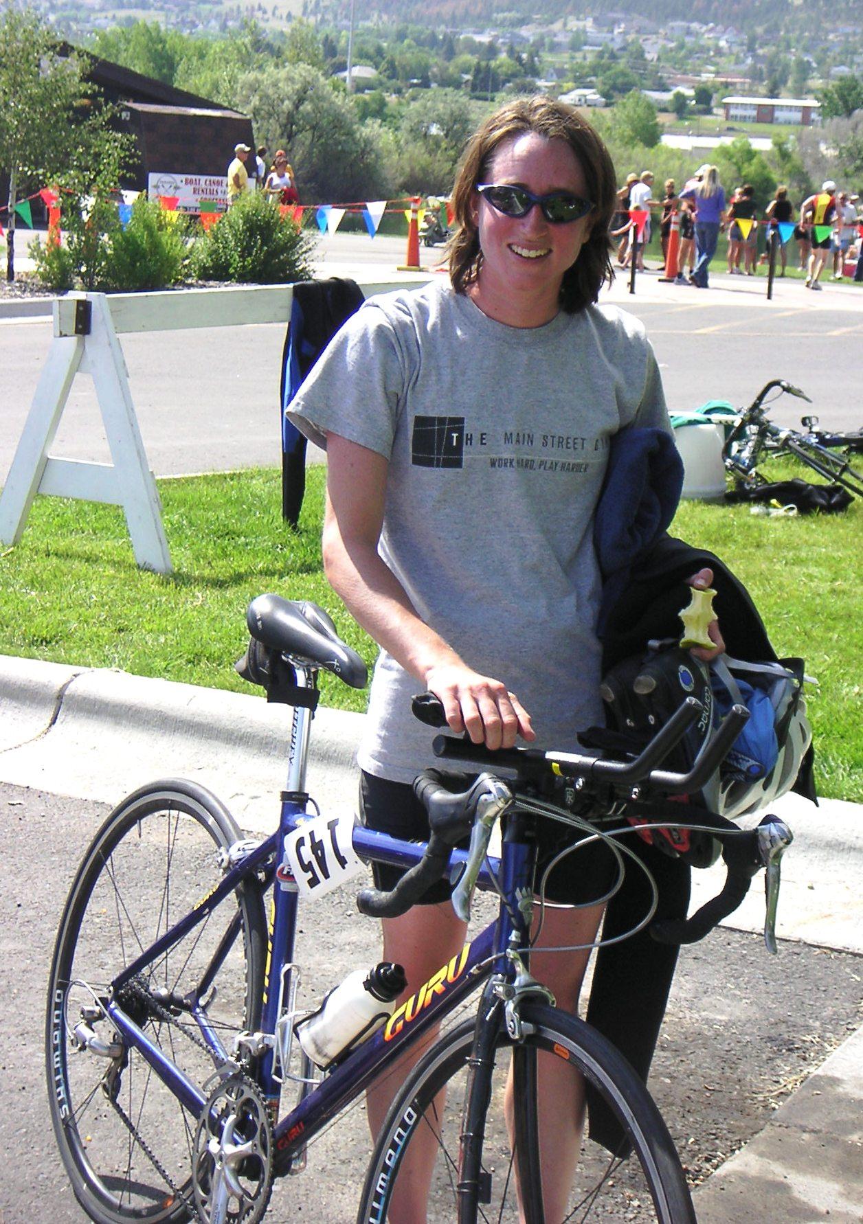 Triton Mandy Axelson at 2009 Spring Meadow Triathlon