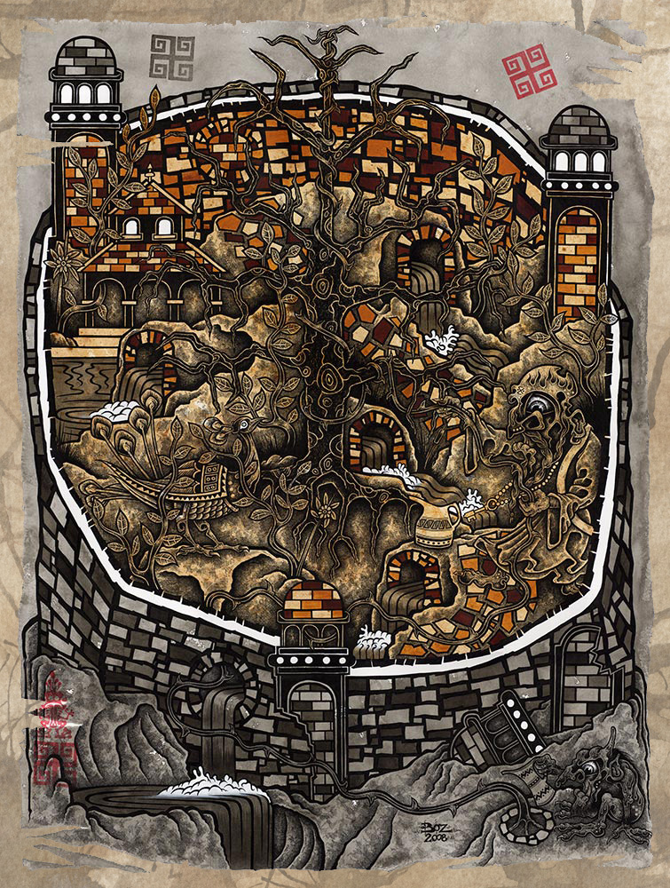 Boz Mugabe - THE ENCROACHMENT ( 2008 )
