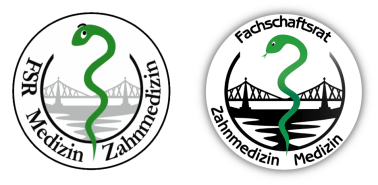Old (2011) and new (2012) student council logo