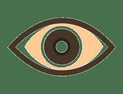 Eyes Open. - new simplistic webpage logo