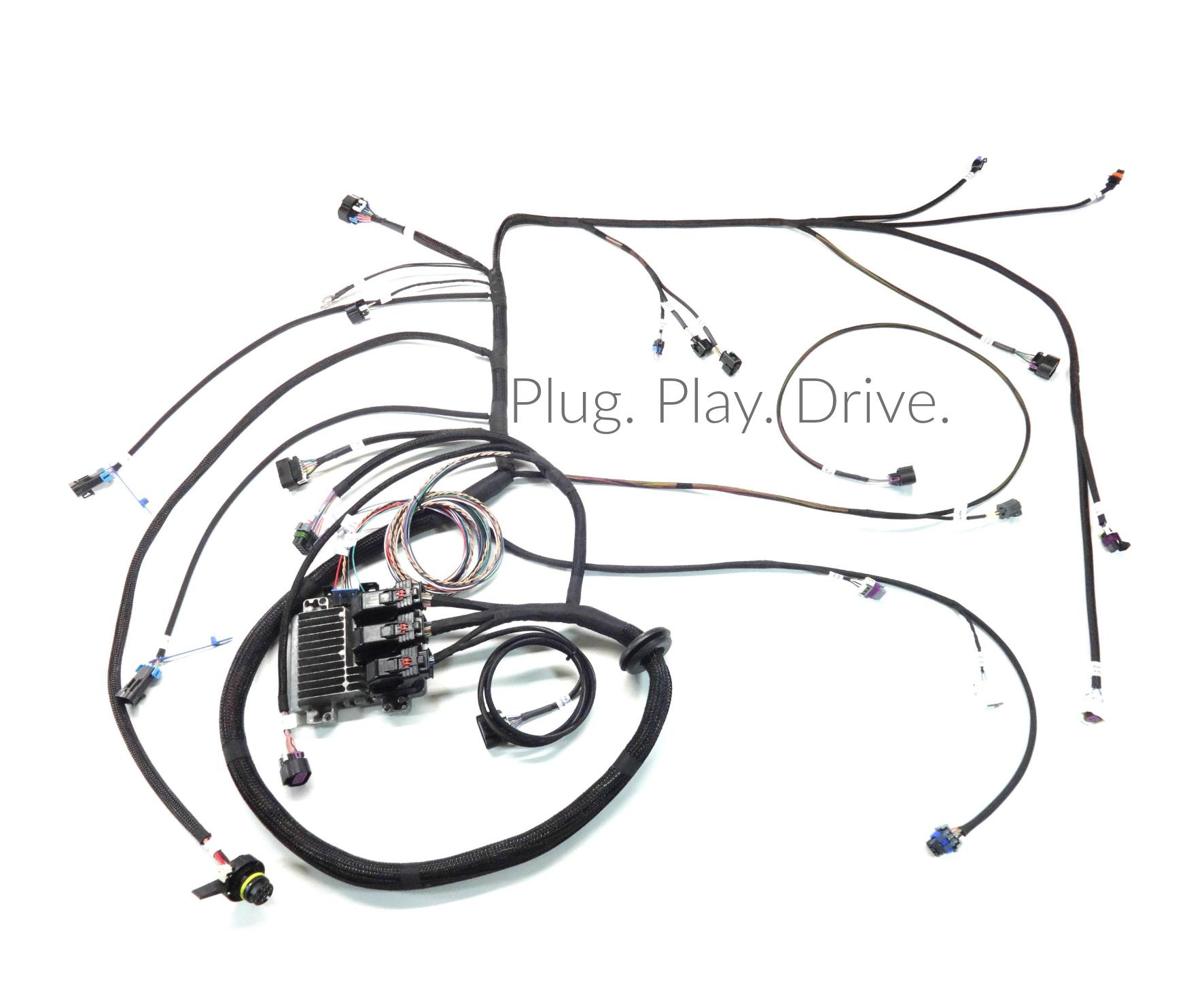 lq4 wiring harness instructions