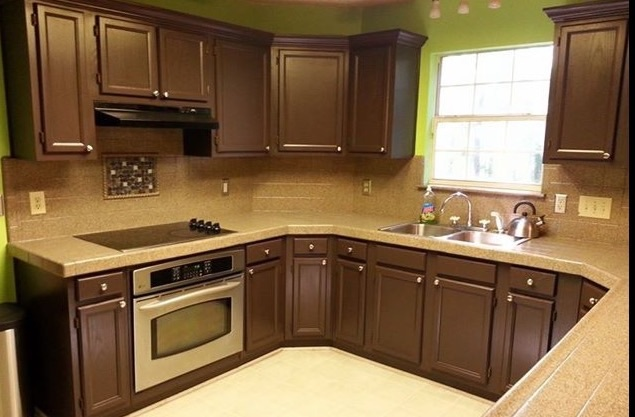 Experience With Staining Kitchen Cabinets?