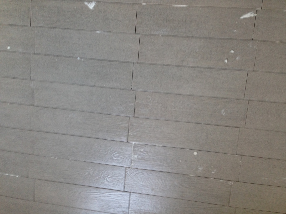 disaster tiling job