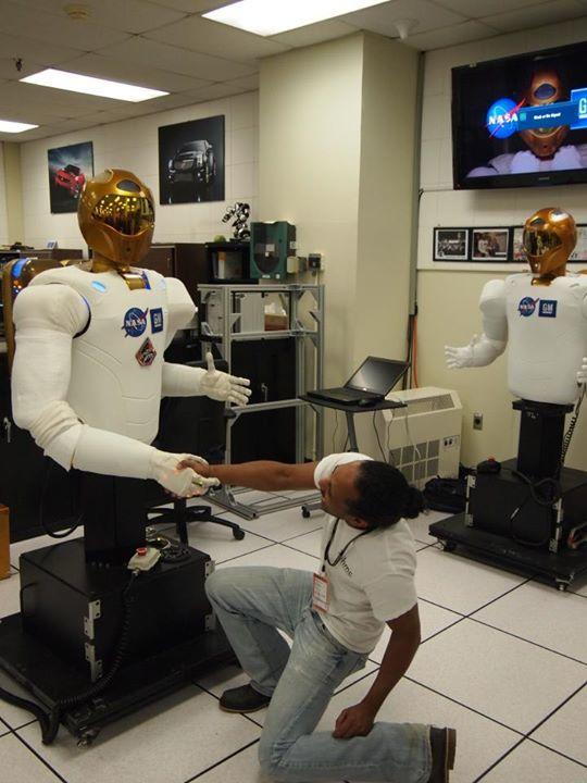 My Introduction NASA robonaut