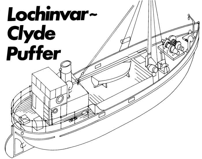 Free Ship Plans: Lochinvar Clyde Puffer Plans