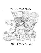 Seymour Red beds logo, Robert Bakker, Houston MNH