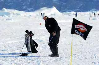 World Ice Golf Championship Greenland