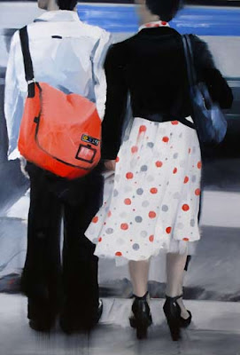 Pair 2007, oil on canvas, Marina Fedorova, Rússia - Pintura Contemporânea