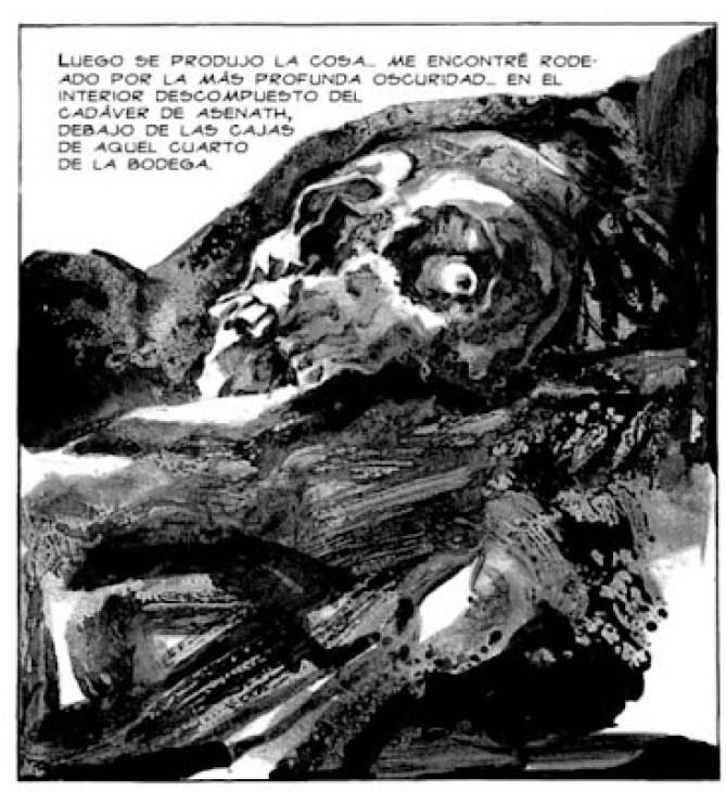 D'Blog of 'Israeli: Alberto Breccia Part 2: El Eternauta to Lovecraft