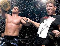 Chris Benoit with Eddie Guerrero
