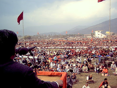 maoist rally nepal