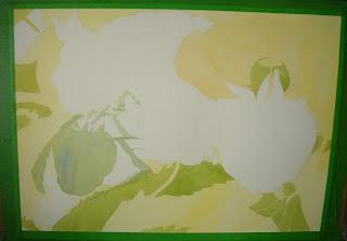 Raspberry Painting Progress Photo #1