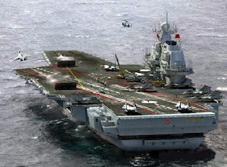 Proposed 93,000 ton Chinese Super Carrier Say Hello Taiwan!