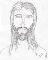 jesus drawings pencil christ simple conquerors
