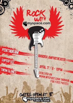 MySpace India Launch Rock Concert