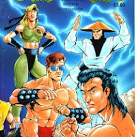 Mortal Kombat el Comic.. Por Vic Sage