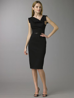 "983e7953da0 Ugly Betty – Amanda -Episode ""In or Out""-Black Halo Jackie O Dress."