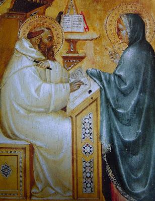 Nossa Senhora aparece a São Bernardo