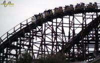 Psyclone Roller Coaster - Six Flags Magic Mountain