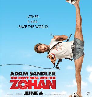 Adam sandler performing splits
