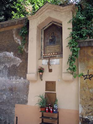 Shrine to the Virgin