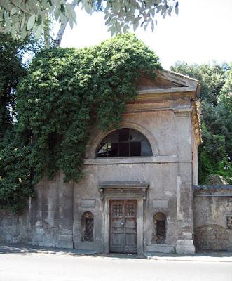 Entrance to Villa Ada