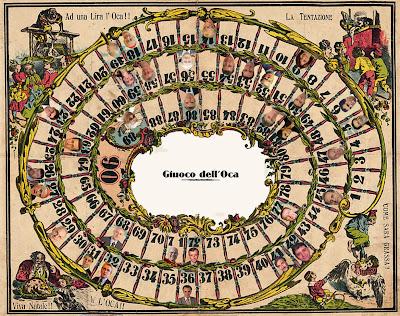 il gioco dell'oca clericale