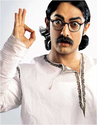 Aamir khan dressed up in bengali wallpaper