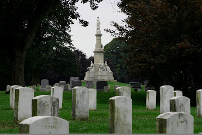 Soldier's Monument at the Gettysburg National Cemetery