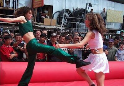 Fun Safari Russian Freestyle Girls Fighting Club